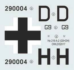 1:32 He 219 A-2 G9+DH