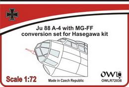1:72 Ju 88 A-4 with MGFF