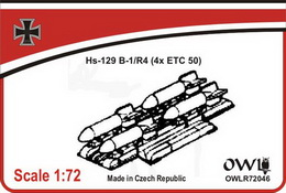 1:72 ETC 50 for Hs 129 B-1/R4