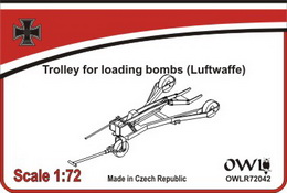 1:72 Trolley for loading bombs (Luftwaffe)