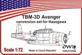 1:72 Avenger night torpedo-fighter conversion set