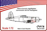 1:72 F4U-2 Corsair conversion set