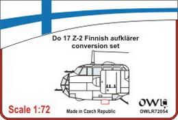 1:72 Do 17 Z-2 Finnish aufklarer