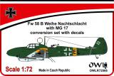 1:72 Fw 58 B Nachtschlacht with MG 17 conv&decals