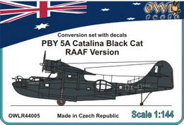 1:144 Catalina Black cat RAAF version conver. set&decal  - larger image