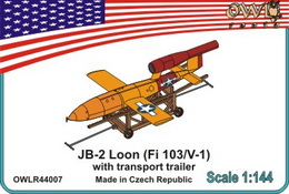 1:144 JB-2 Loon (V-1) USAF version