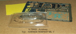 1:72 Tempest Mk.V PE set with cabin - larger image