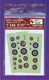 1:144 RAF roundels C & C1