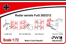 1:72 Radar aerials FuG 202/212 - larger image
