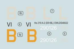 1:48 He 219 A-2 D5+BL
