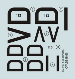 1:48 He 219 A-019, DV+VI