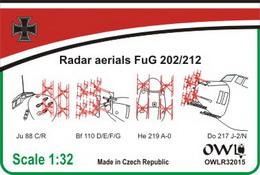 1:32 Radar aerials FuG 202 basic set