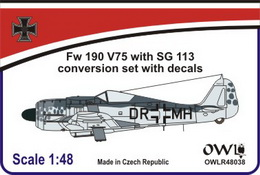 1:48 Fw 190 V75, DR+MH with SG 113