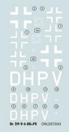 1:72 He 219 V-6 DH+PV