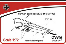 1:72 ETC 50 for Fw 190