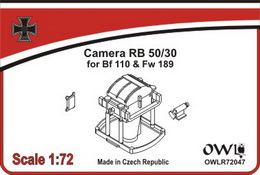 1:72 camera RB50/30 with rack