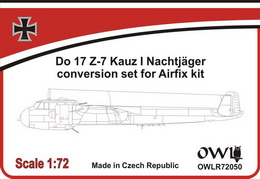 1:72 Do 17-7 Kauz I convesion set