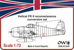 1:72 Hellcat FR II conversion set