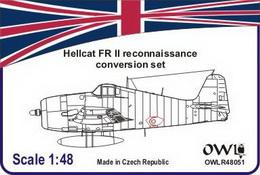1:48 Hellcat FR II conversion set