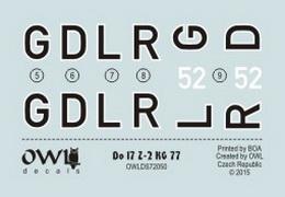 1:72 Do 17 Z-2 GD+LR