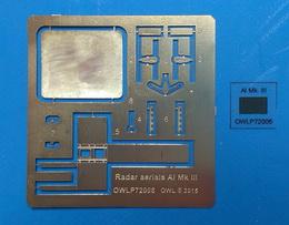 1:72 Radar aerials AI Mk III