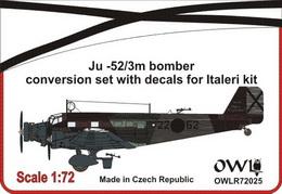 1:72 Ju 52 Nationalist bomber conversion set - larger image