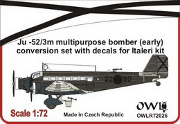 1:72 Ju 52 Nationalist multi-role bomber conversion set
