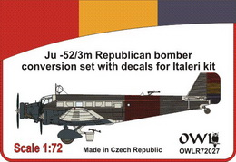 1:72 Ju 52 Republican bomber conversion set