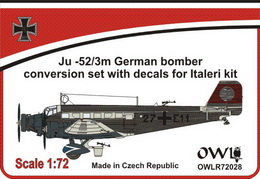 1:72 Ju 52 German bomber conversion set
