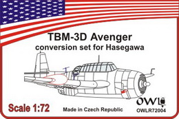 1:72 Avenger night torpedo-fighter conversion set