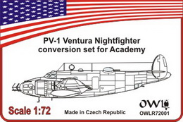 1:72 Ventura nightfighter conversion set