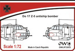 1:72 Do 17 Z-5 antiship bomber