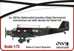 1:72 Ju 52/3m Nationalist nachtbomber (Hajo Herrmann)