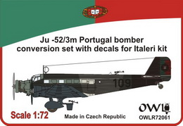 1:72 Ju 52/3m Portugal nachtbomber - larger image
