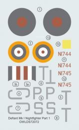 1:72 Defiant Mk I NF Part 1