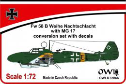 1:72 Fw 58 B Nachtschlacht with MG 17 conv&decals - larger image
