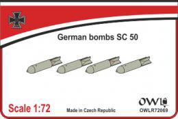 1: 72 SC 50 bombs&decals
