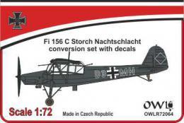 1:72 Fi 156 C Nachtschlacht conv. set&decals