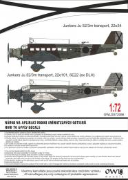 1:72 Ju 52 Spanish transport