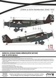 1:72 Ju 52 Spanish National Nachtbomber