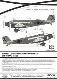 1:72 Ju 52 Spanish transport-bomber