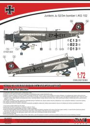1:72 Ju 52 German bomber - larger image