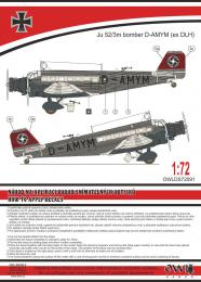 1:72 Ju 52 Bomber (civil code) - larger image